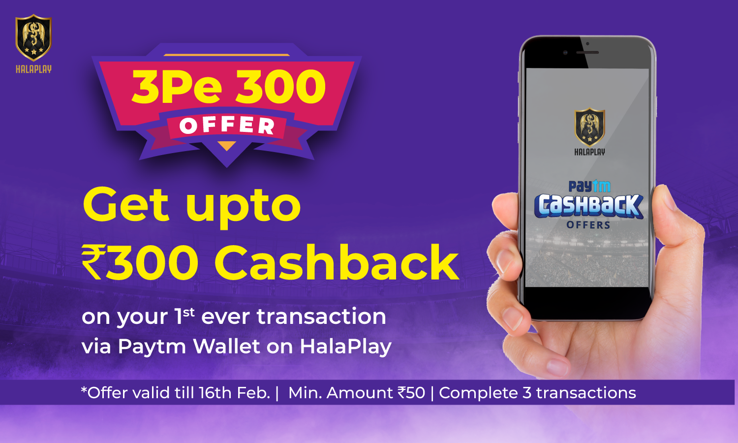 HalaPlay Cashback Offer