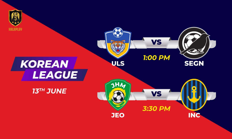 Korean League - Round 6